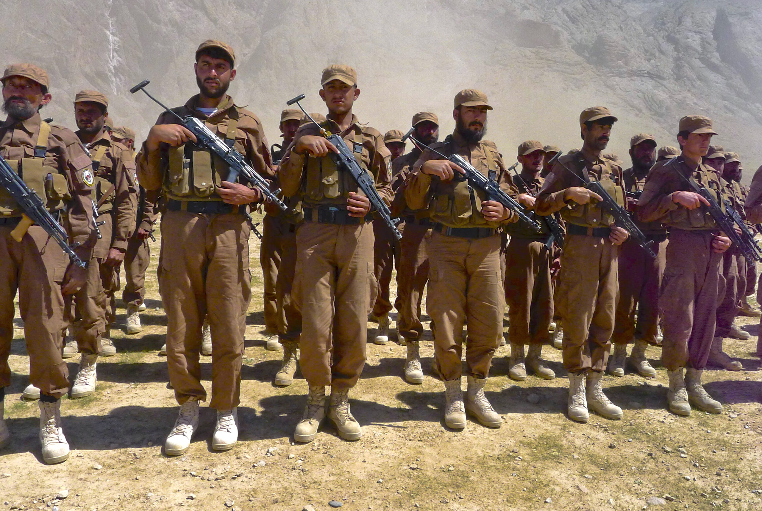 What happens now to all those US-backed militias in Afghanistan?